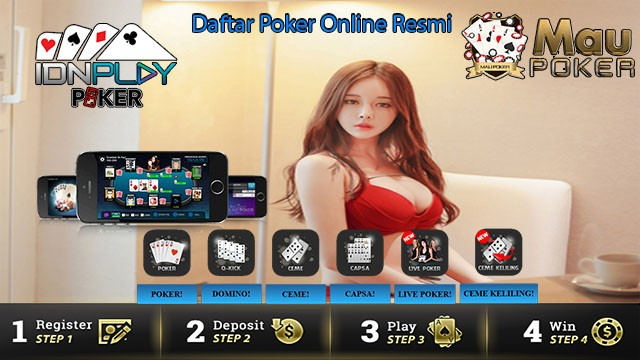 Daftar Poker Online Resmi